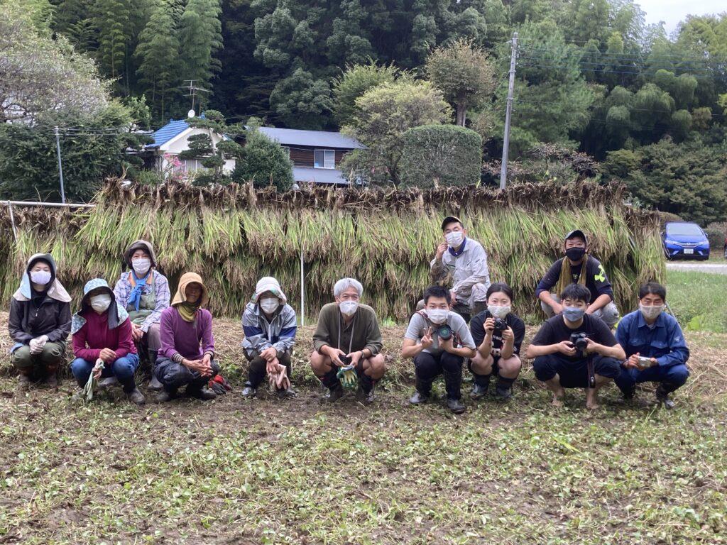 9月26日今年最初の稲刈り